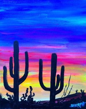 acrylic easy painting beginners