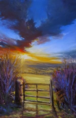 pastel oil easy painting drawings irish countryside paintings landscape burgan roman pastels phoenix landscapes simple paint patterns source cartoondistrict