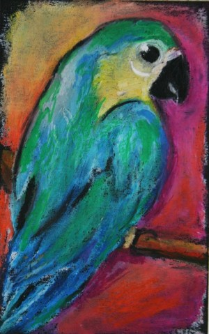 pastel oil easy drawings pastels painting drawing paint simple parrot paintings google awesome watercolor chalk still tilden pastele source projects