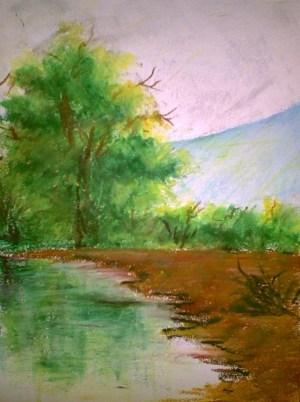 pastel oil easy drawings painting
