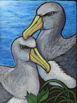 pastel oil easy drawings painting pastels paintings drawing bird cartoondistrict owl sketches source visit