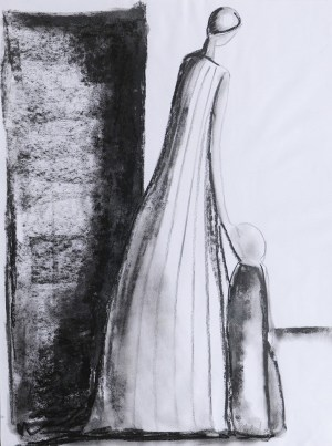 charcoal easy drawing techniques shapes proportion
