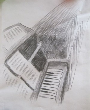 charcoal drawing easy techniques proportion shapes try