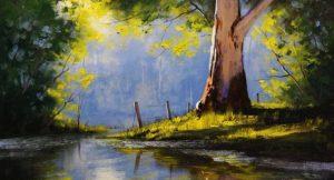 landscape painting easy beginners paintings beginner simple acrylic paint landscaping stumbleupon google anyone