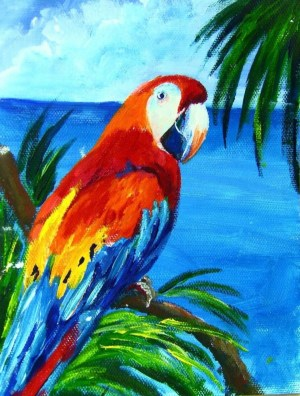 painting acrylic canvas simple beginners easy animals drawing oil source