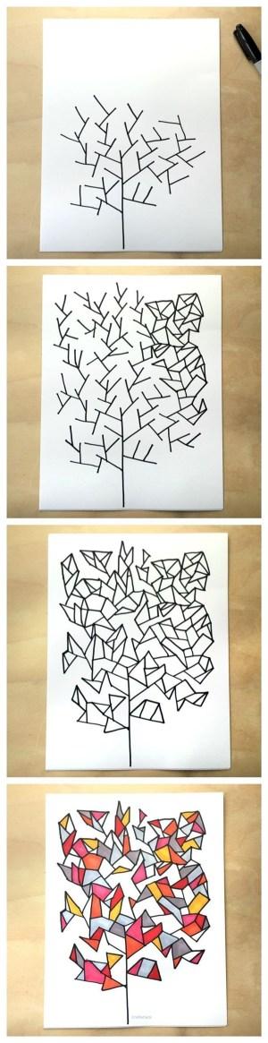 simple designs doodle tangle