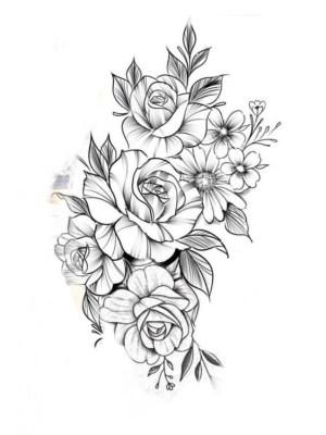 flower drawings simple easy beginners cartoon source
