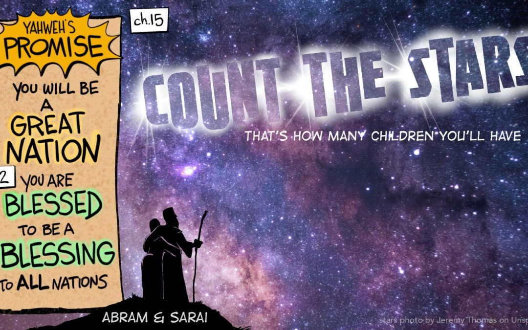 Count the Stars | A Cartoonist's Guide to Genesis 15:1-6