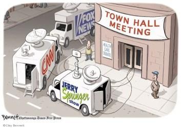 Clay Bennett s Editorial Cartoons Town Hall Comics And Cartoons The Cartoonist Group