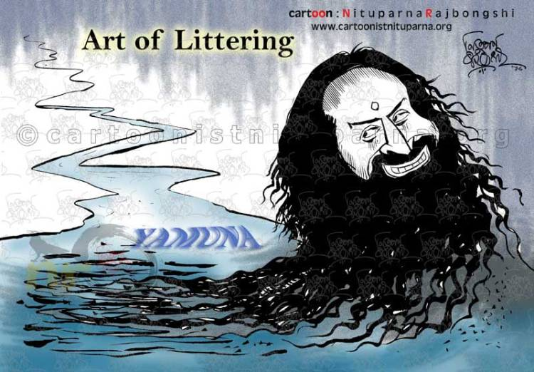 Art-of-Littering cartoon by Nituparna Rajbongshi