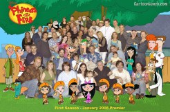 Phineas and Ferb crew