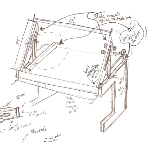 DIY Animation Desk Plans PDF Download simple furniture