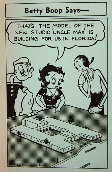 Betty Boop Racist : betty, racist, Popeye, Segregation, Fleischer, Studio, Miami
