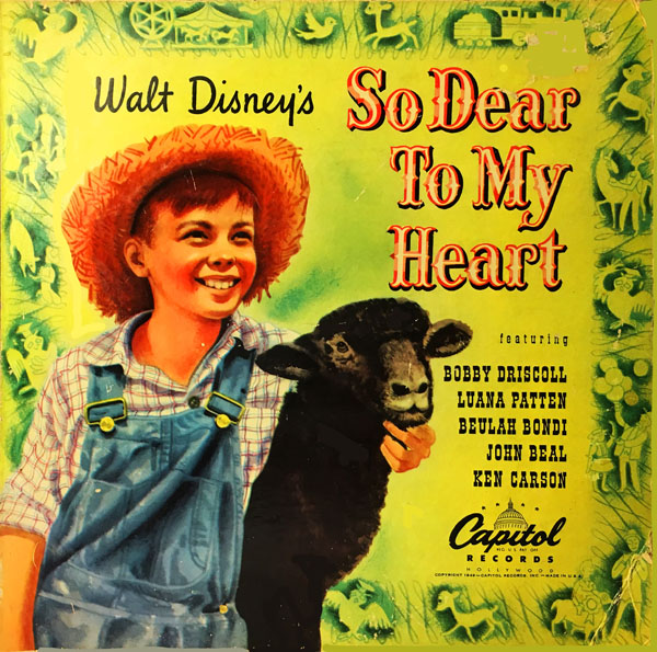 Image result for disney's so dear to my heart children 78 rpm