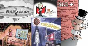 New Year 2021 Cartoons on CartoonState.com Dec 31, 2020