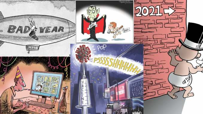 This Week In Political Cartoons New Year 2021 Edition