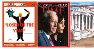 Two magazines and Supreme Court hand Trump triple loss