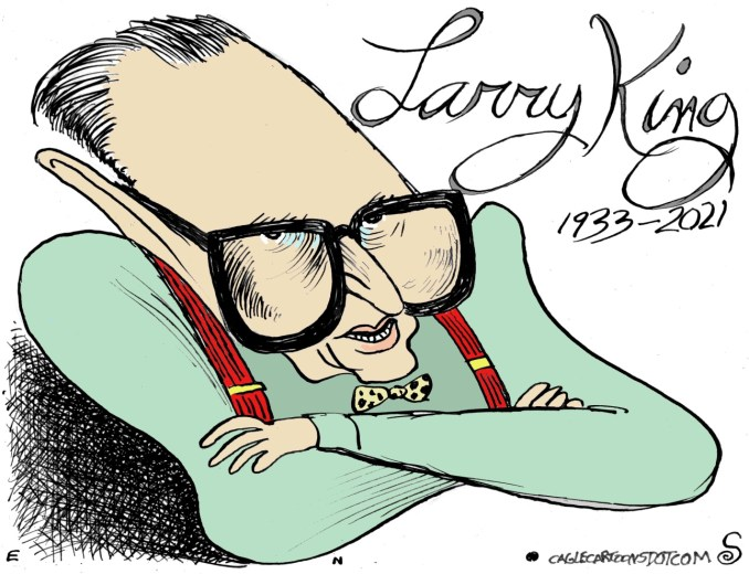 Larry King by Randall Enos, Easton, CT