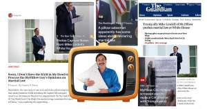 Oh My Pillow Guy How Do You Sleep at Night After Pushing Martial Law