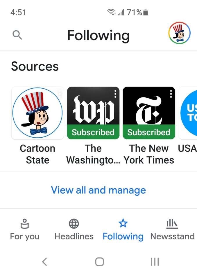 Follow Cartoon State in Google News