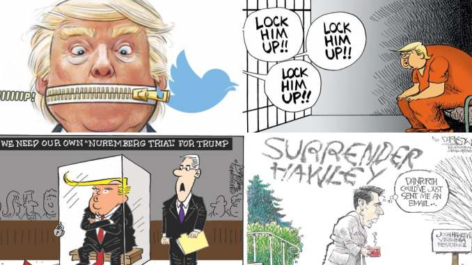 This Week in Cartoons on CartoonState.com - Capitol Riot Fallout Edition