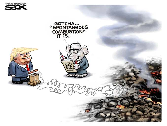 Excuses Excuses by Steve Sack, The Minneapolis Star-Tribune, MN