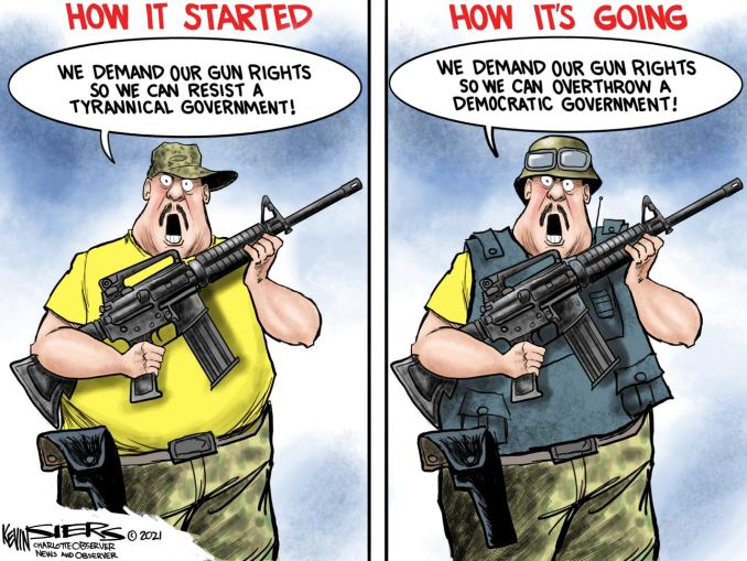 Gun Rights Amended by Kevin Siers, The Charlotte Observer, NC