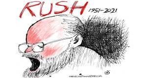 Rush Limbaugh by Randall Enos, Easton, CT