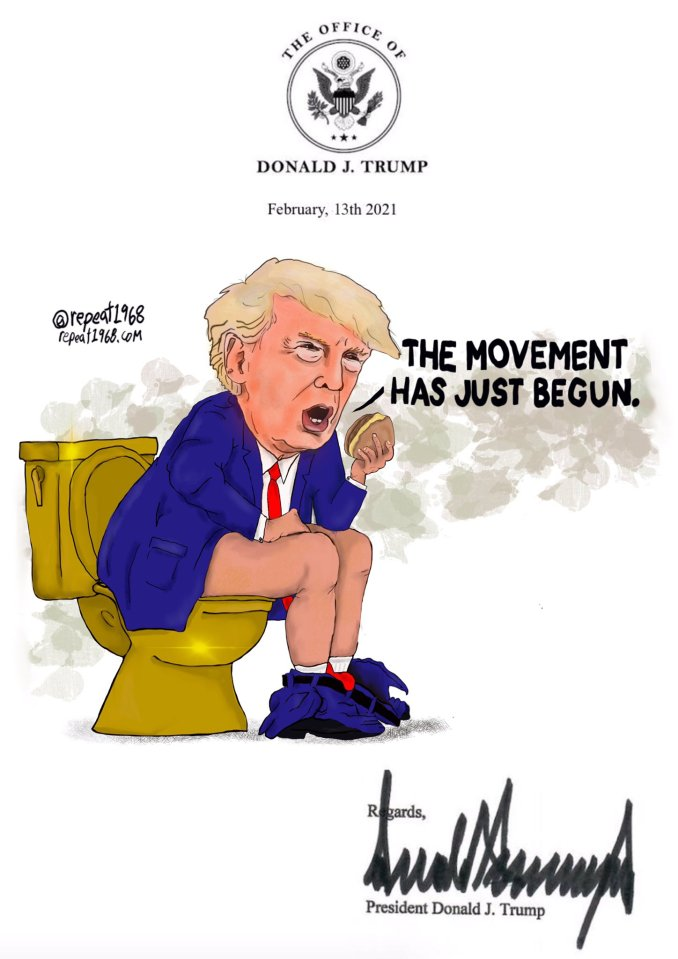 The Movement Has Just Begun by John Buss @repeat1968
