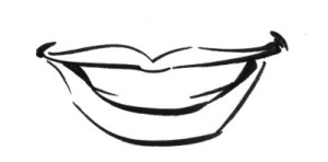 mouth cartoon lips draw drawing simple template caricatures cartoons nose formulas line lesson illustration clipartmag