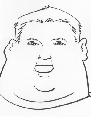 Fat Man Drawing at PaintingValley.com   Explore collection