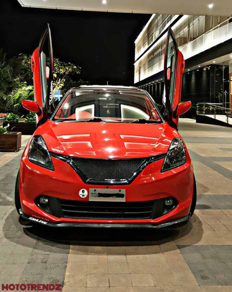 Suzuki Baleno Modified