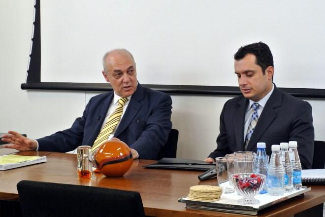 Figura 1 - Ricardo Dip e Ricardo Felício Scaff - foto Nataly Cruz