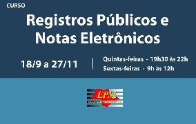 Registros Públicos e Notas Eletrônicos