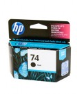 HP #74 Black Ink Cart CB335WA