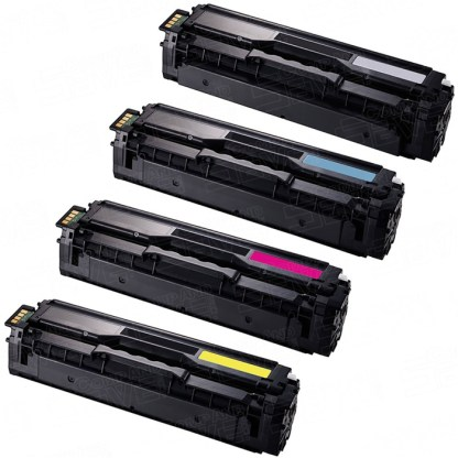 Samsung Clp-510  -  Set Of 4 High Yield Toners(C,Y,K,M)  Compatible Toner 1
