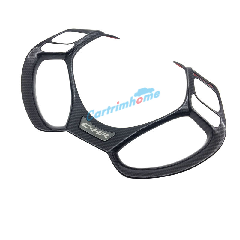 Free shipping 1PCS Interior ABS Steering Wheel Cover Trim