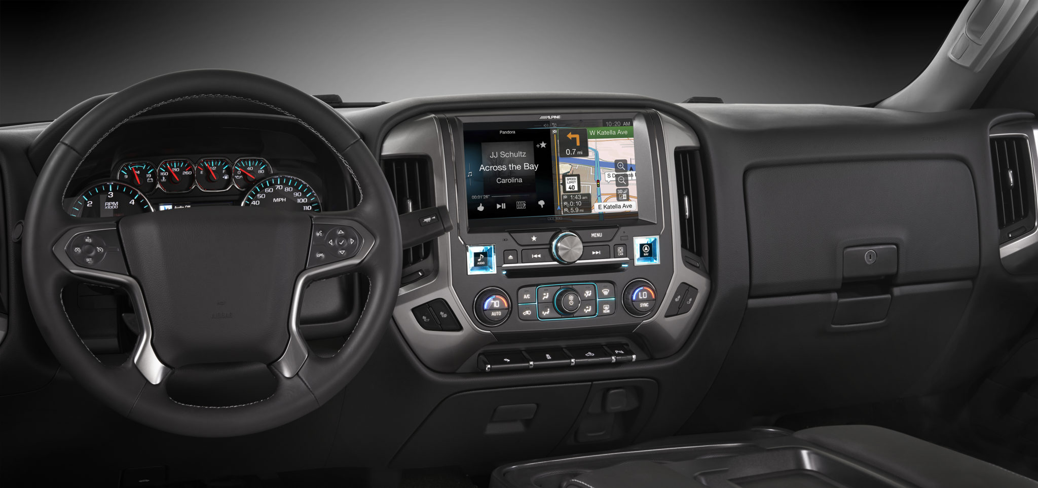 Alpine Restyle In-dash Navigation System For 2014