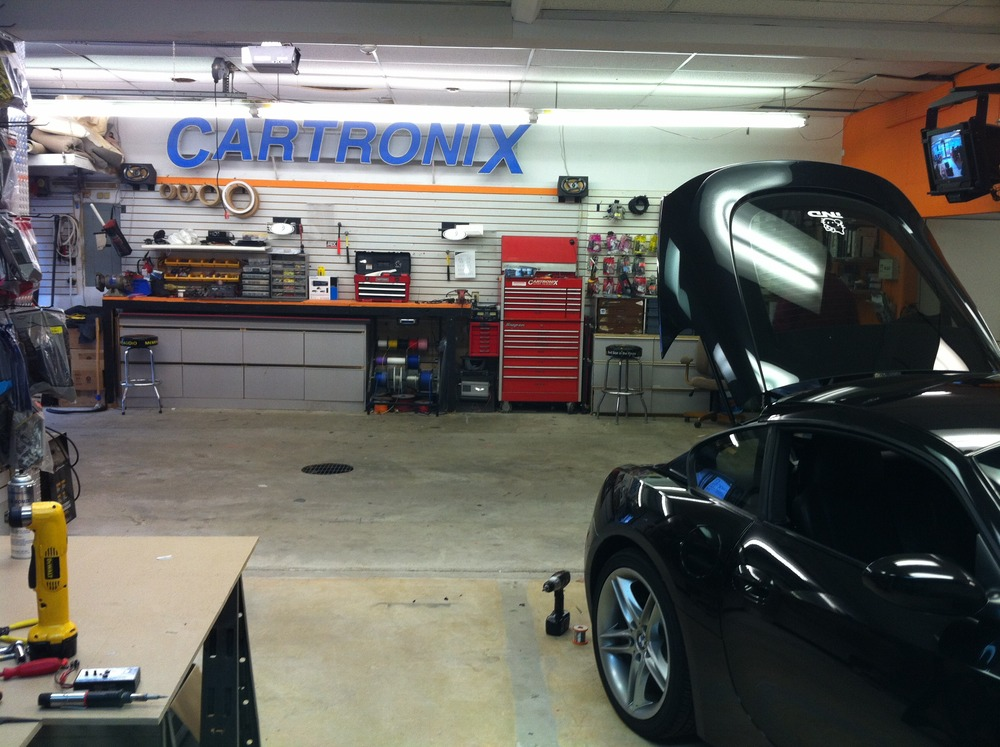 BMW Z4M Coupe with a Double Din Clarion NX501 NAV Radio by Cartronix Inc  Cartronix Inc Blog