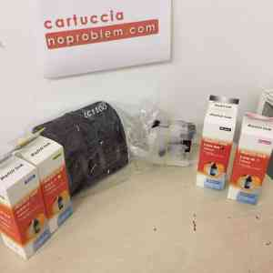 KIT IN CONTINUO PER BROTHER LC1100 + 400ML INCHIOSTRO