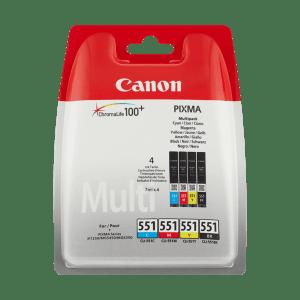 Multipack CLI-551 cmybk 6509B009