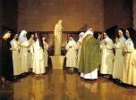 la Messa con il Padre Vicario