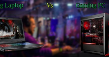 gaming pc Vs Laptop
