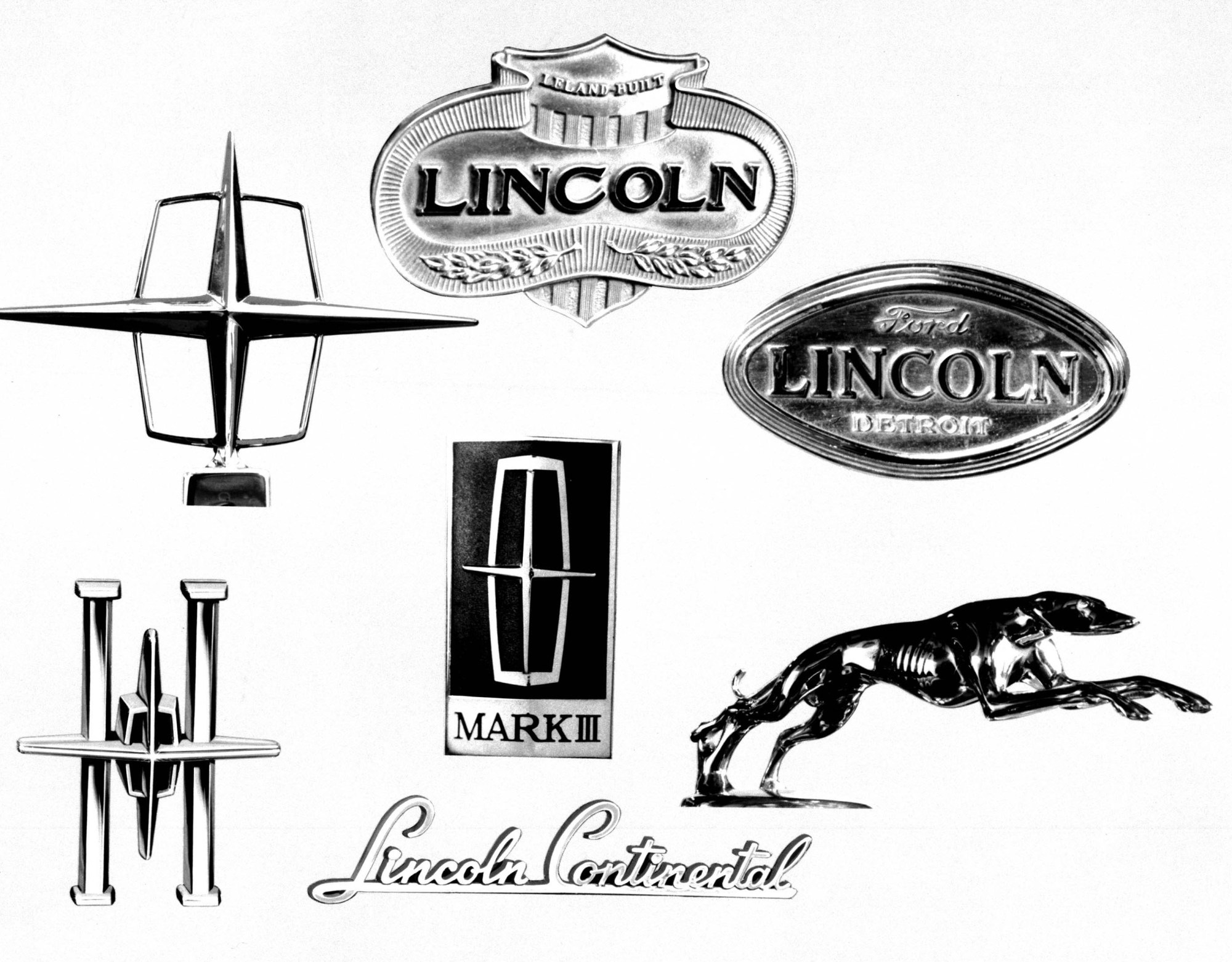 hight resolution of lincoln related emblems