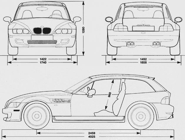 Types of vehicles and systems functioning: BMW M Coupe : 2002