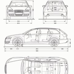 Audi A6 C6 Wiring Diagram Myplate Food Avant 2005 Cartype Draw5