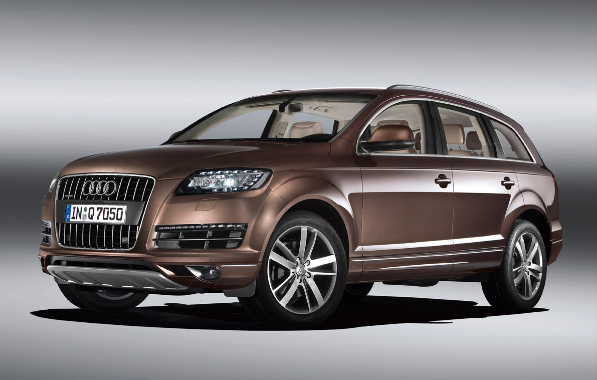 hight resolution of audi q7 2 09