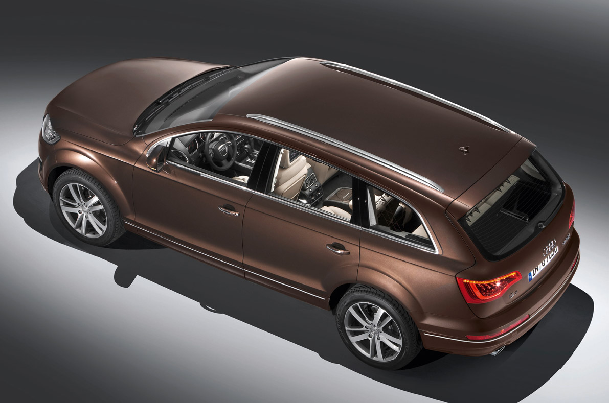 hight resolution of audi q7 6 09