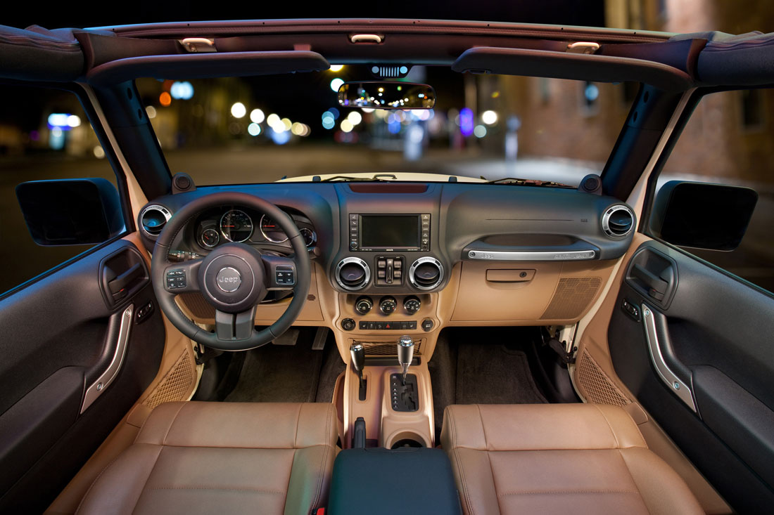 Jeep Rubicon Interior
