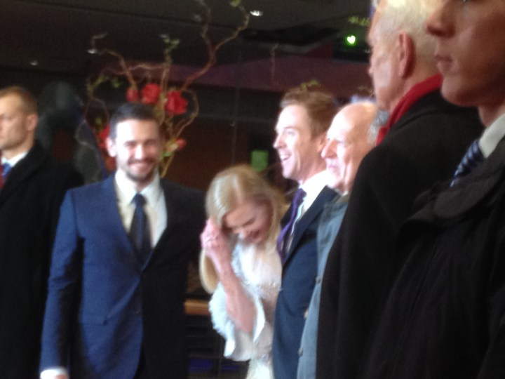 James Franco, Nicole Kidman, Damian Lewis, Werner Herzog.